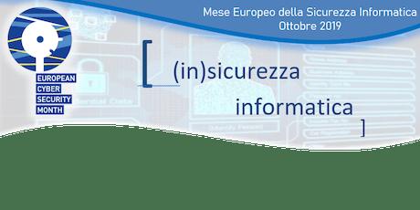 (in)sicurezza informatica biglietti