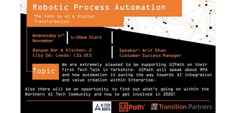 Robotic Process Automation - The Path to AI & Digital Transformation tickets