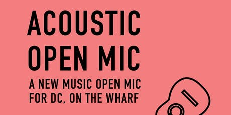 Free Acoustic Open Mic Hosted by Rachel Levitin tickets