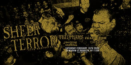 Sheer Terror (35th anniversary), The Templars at The Factory tickets