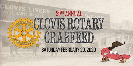Clovis Rotary 29th Crab Feed & Auction tickets