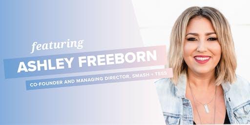 RISE Breakout Speaker Dinner - Ashley Freeborn of Smash + Tess
