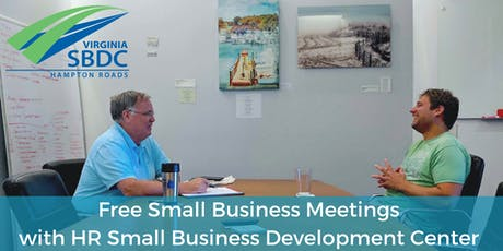 Free Small Business Meetings with SBDC - December tickets