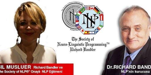 """Richard Bandler'dan Sertifikalı """"NLP Uygulayıcısı - Practitioner Programı"""""""