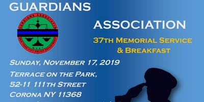 NYPD Guardians Association 37th Memorial Service & Breakfast
