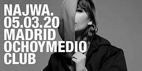 Najwa en concierto en Madrid entradas