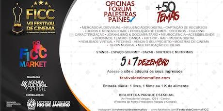 [Dia 07.12 - Palestras] VII Festival de Cinema FICC bilhetes