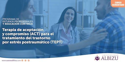 EC: Terapia de aceptación y compromiso (ACT) para el tratamiento TEPT