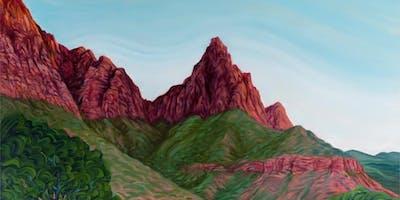 """""""Paint Away"""" Fantasy Landscape"""