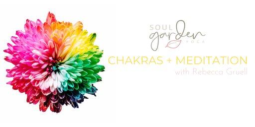 Meditation + Chakras