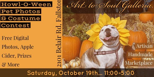Art to Soul Howl-O-Ween Spooktacular Pet Costume Contest & Photo Portraits