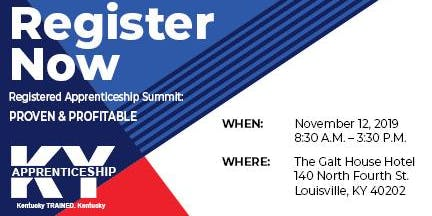 Registered Apprenticeship Summit: Proven & Profitable