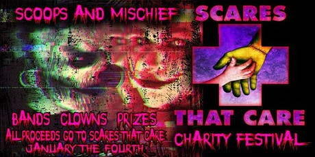 Scoops And Mischief Scares that care charity event tickets