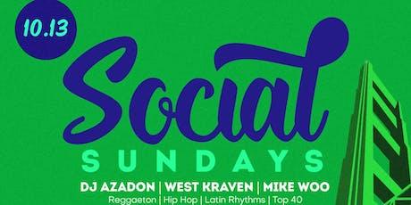 Social Sunday's Every Sunday @ Love + Propaganda | Hip Hop, Reggaeton, More tickets