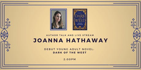 Young Adult Author: Joanna Hathaway tickets