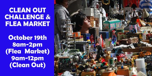Clean Out Challenge and Flea Market