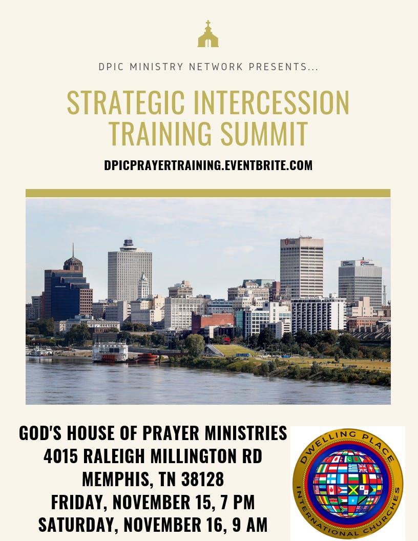 Strategic Intercession Training Summit