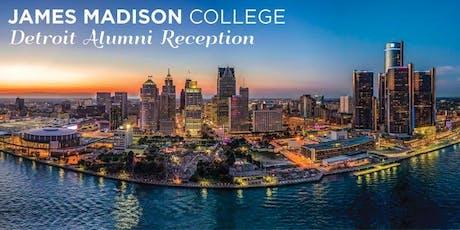 JMC Detroit Alumni Reception tickets
