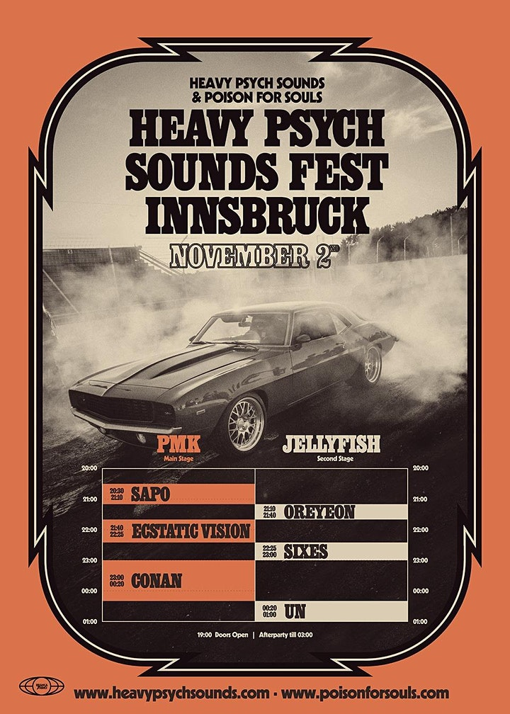 Heavy Psych Sounds Fest Innsbruck: Bild