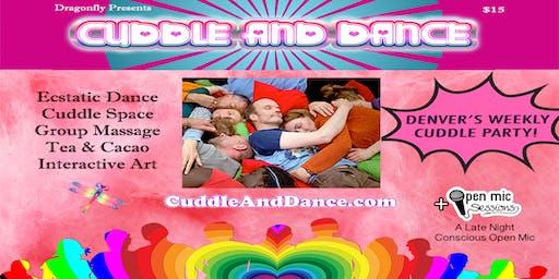Cuddle & Dance + Open Mic! Featuring Seraiah