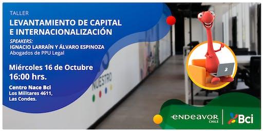 Taller Levantamiento de Capital e Internacionalización