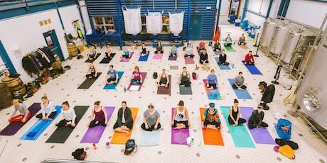 Do Yoga. Do Good. Donation Yoga at Allagash. tickets
