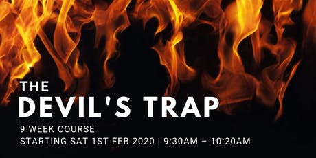 Devil's Trap - (Every Sat from 1st Feb | 9 Weeks | 9:30AM) tickets