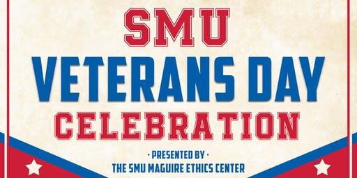 SMU Veterans Day Celebration 2019