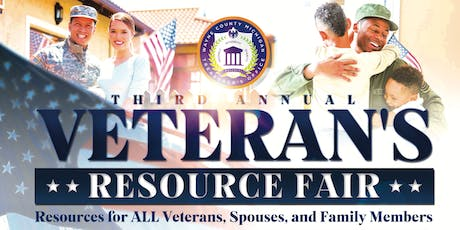 Third Annual Veteran's Resource Fair tickets