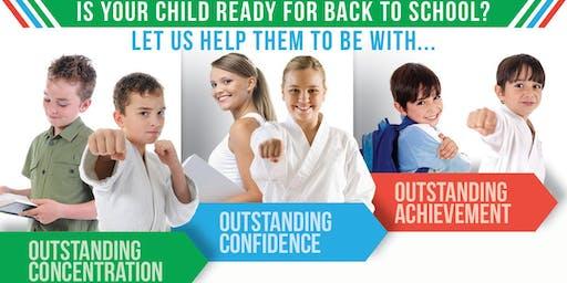 Karate for Concentration Workshop (Ages 5-12)