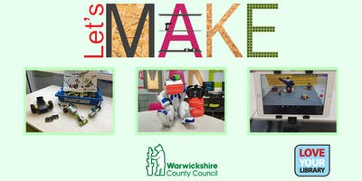 Let's Make Spooky Discovery Day at Warwick Library