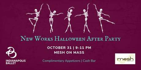New Works Halloween After Party tickets