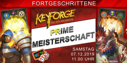 KeyForge Prime Meisterschaft: Triad Sealed-Turnier