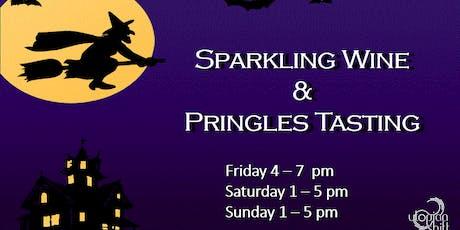 Sparkling Wine & Pringles Tasting tickets