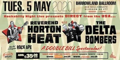 Reverend Horton Heat + Delta Bombers & Support from The Bikini Bottoms