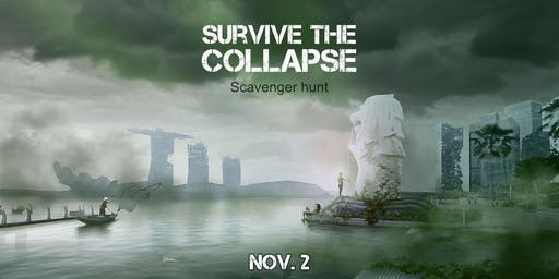 Frolic  presents - Scavenger Hunt : Who will survive the collapse?