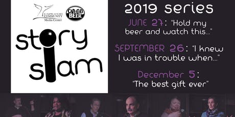 "Story Slam: ""The Best Gift Ever"" tickets"
