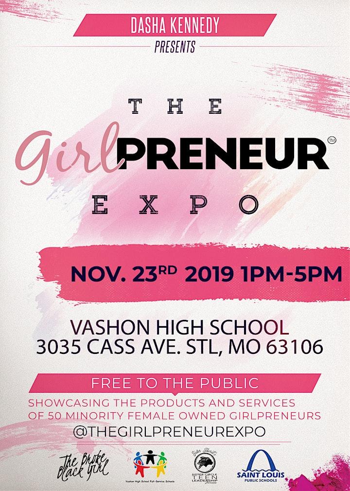The Girlpreneur Expo image