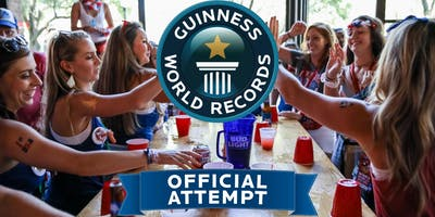 Break the World Record for Largest Flip Cup Game!