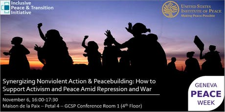 Geneva Peace Week - Supporting Activism and Peace Amid Repression and War tickets