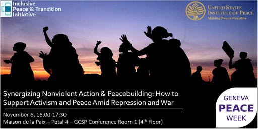 Geneva Peace Week - Supporting Activism and Peace Amid Repression and War