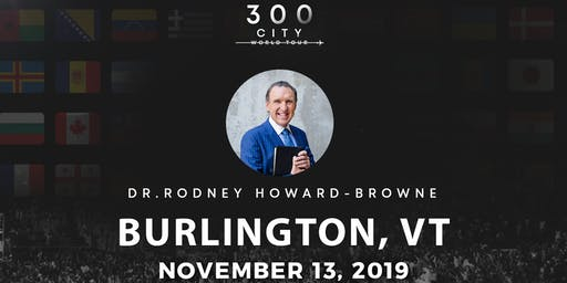 Rodney Howard-Browne in Burlington, Vermont