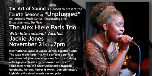 Alex Hiele Paris Jazz Combo Featuring Vocalist Jackie Jones