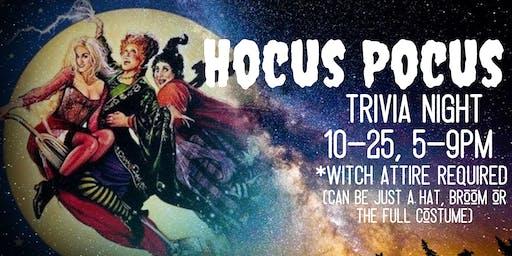 HOCUS POCUS Trivia Night