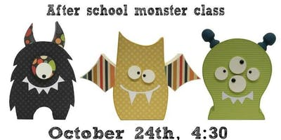After school Monster wood class