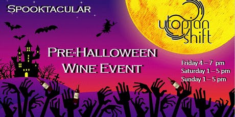 A Spooktacular Pre-Halloween Wine Event tickets