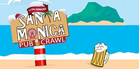 11th Annual SANTA Monica Pub Crawl tickets