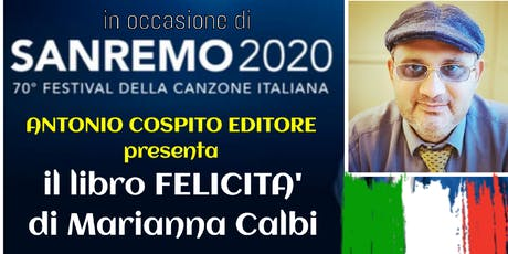 Antonio Cospito presenta il libro Felicità di Marianna Calbi a Sanremo 2020 biglietti