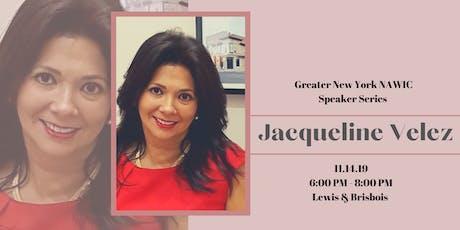 Greater New York NAWIC Builds Partnerships Jacqueline Velez tickets
