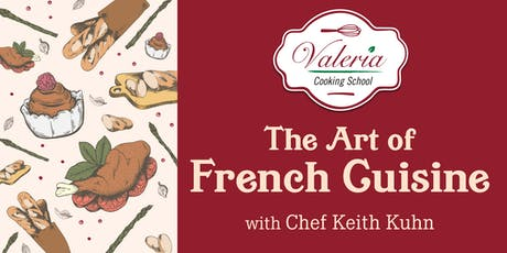 Valeria Cooking School - The Art of French Cuisine tickets